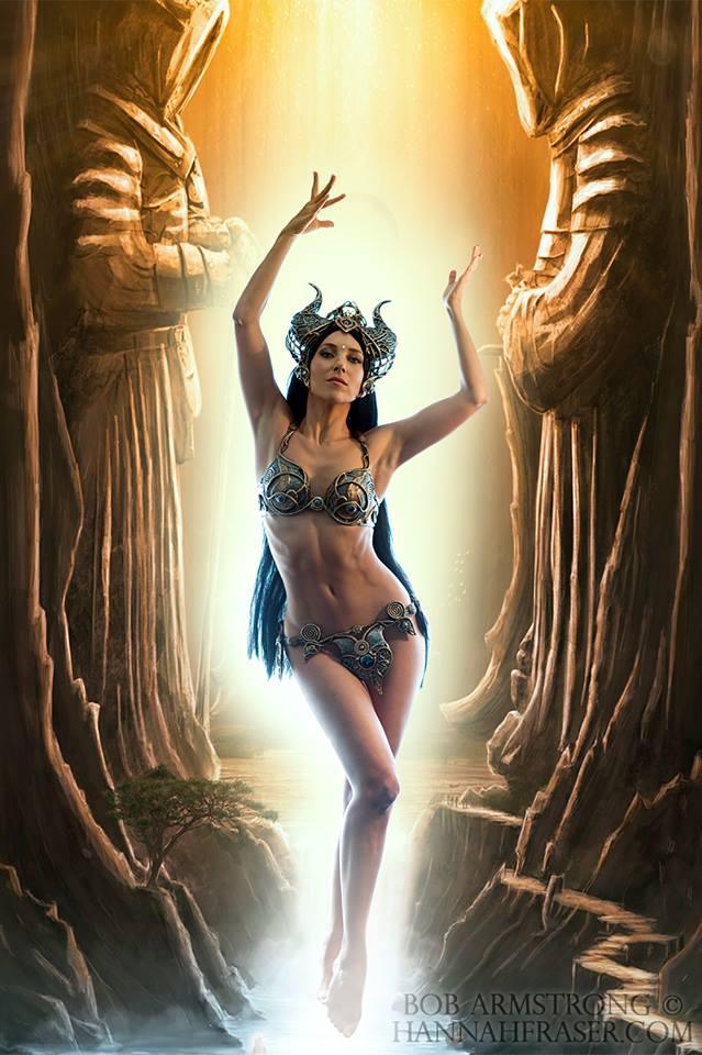 Hannah Fraser Goddess