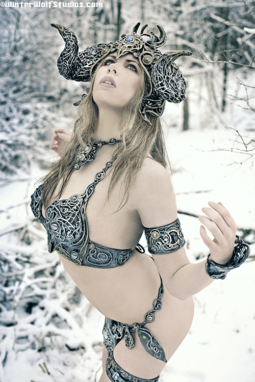 Winter Goddess set
