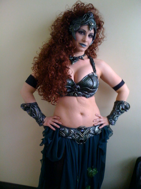 Heavy Metal Belly Dance set