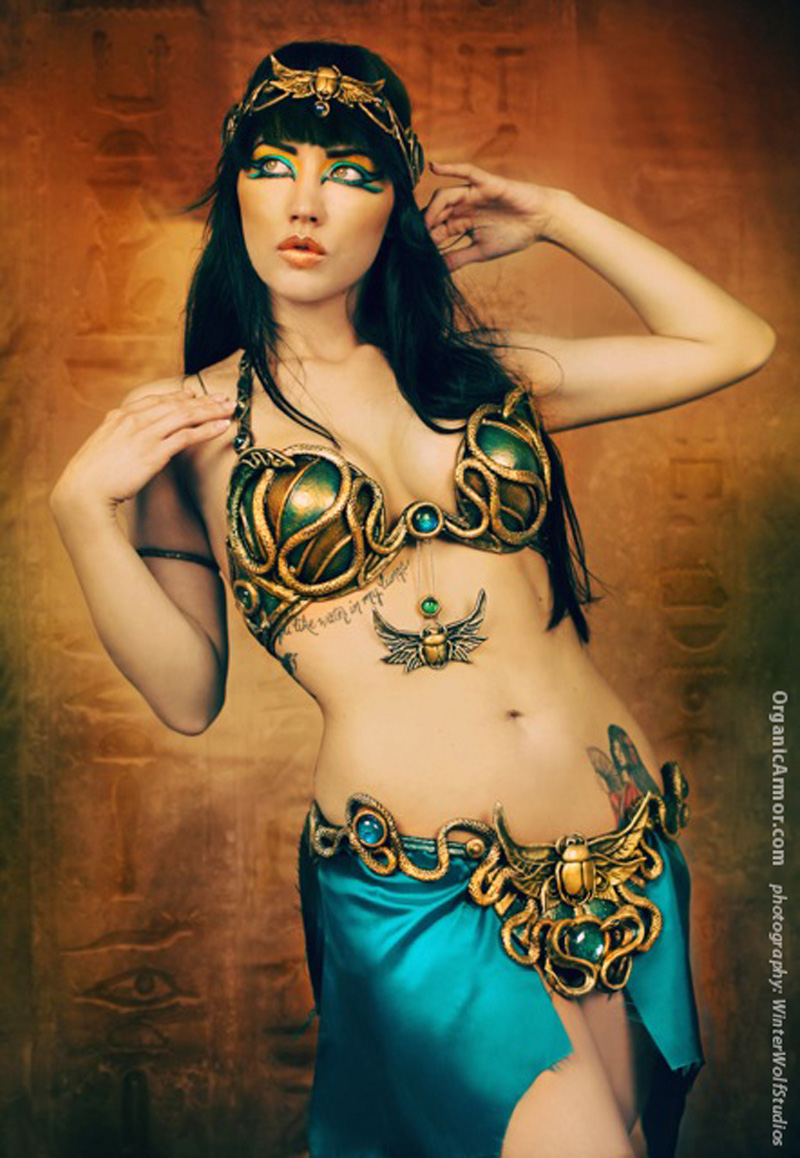 Egyptian Mena Belly Dance set
