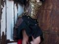 Steampunk Medusa corset