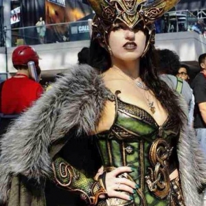 Victoria at NY ComicCon 2013