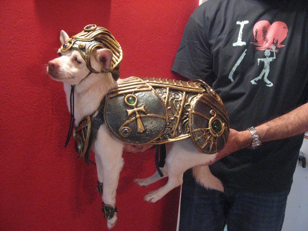 Whistle in Anubis armor