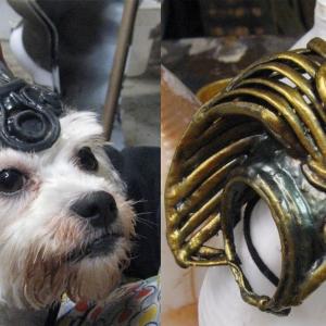 Anubis helmet