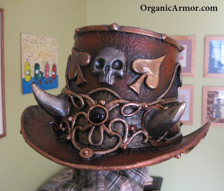 Pirate horned top hat