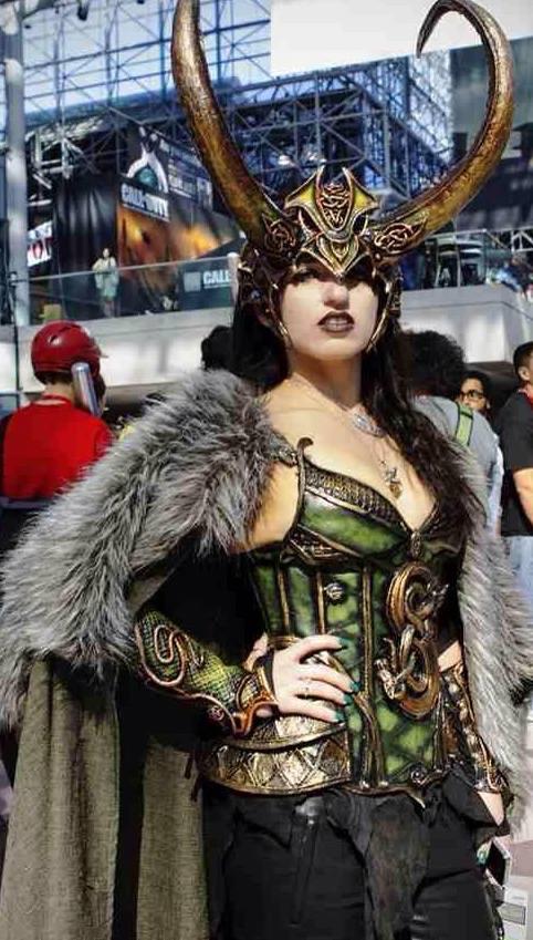 Lady Loki horned headdress