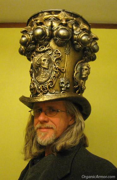 Towering top hat