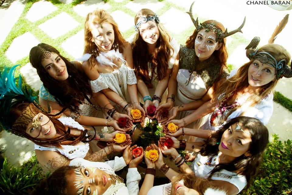 circle of goddesses