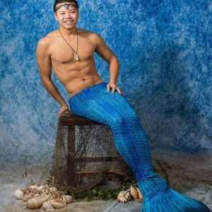 Handsome merman