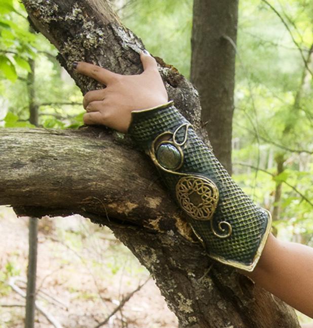 woodland bracers