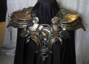 Greenwoman chestplate