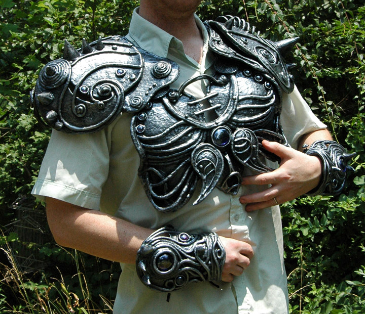 biomech armor front
