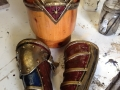 Wonderwoman bracers and headpiece