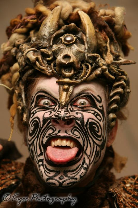Lucent Dossier performance 2007 with Organic Armor helmet, photo by Kyer Wiltshire