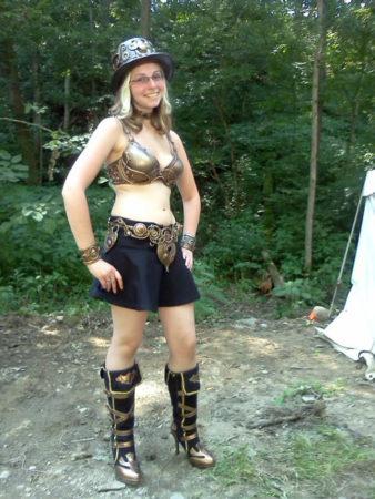 fairy fashion show steampunk