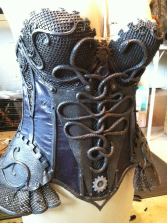 steampunk corset snakes