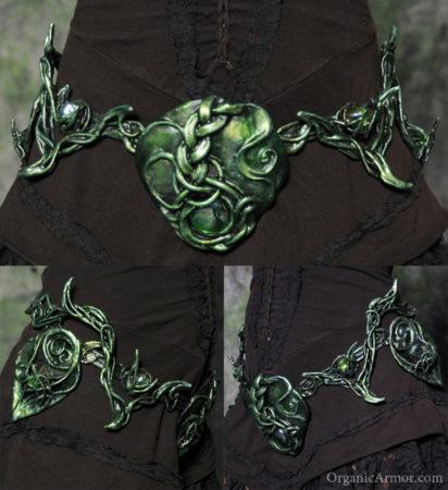 morrigan, belt, goddess, costume