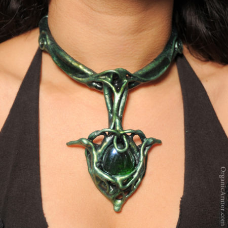 morrigan, necklace, goddess, costume, jewelry