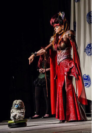 Onyx Amour as Barbie Empress of the Aliens at DragonCon 2013