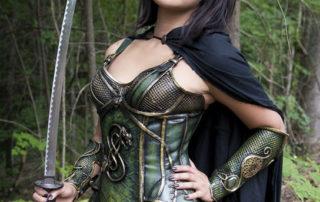 loki celtic corset