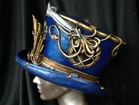 captain nemo custom steampunk top hat