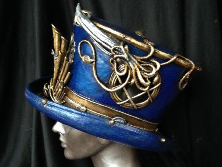 captain nemo custom steampunk top hat