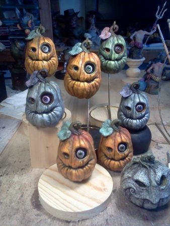 Monster pumpkins by Tom Taggart