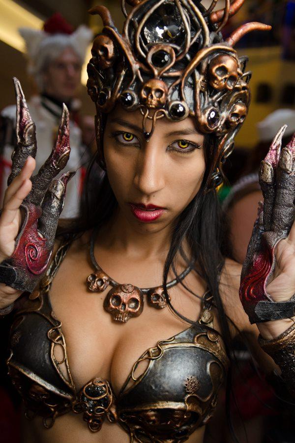 Allegra as Kali at DragonCon