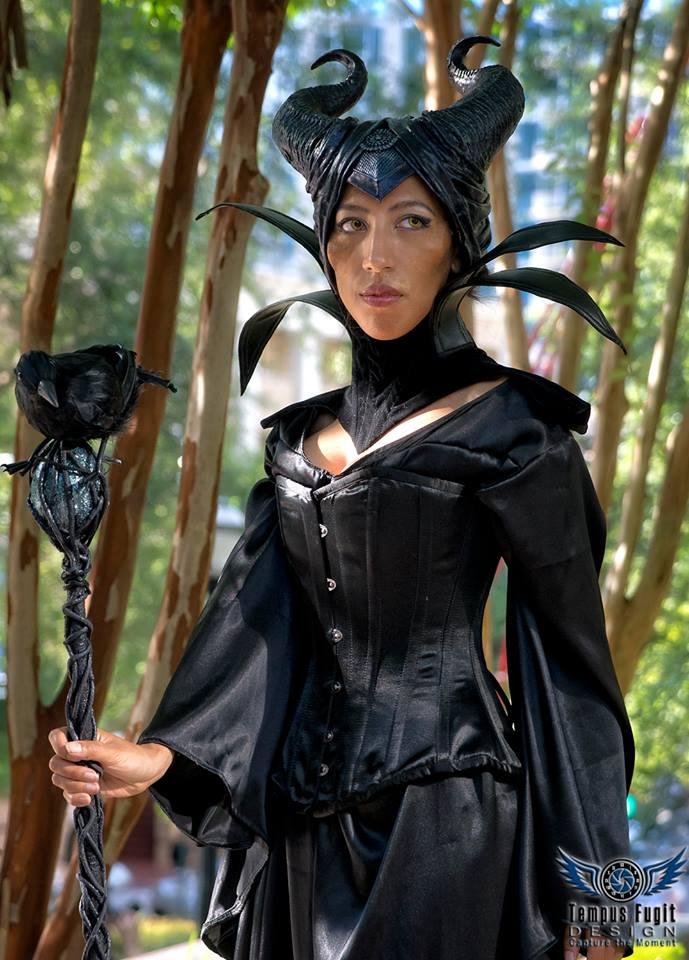Murder of Maleficents shoot