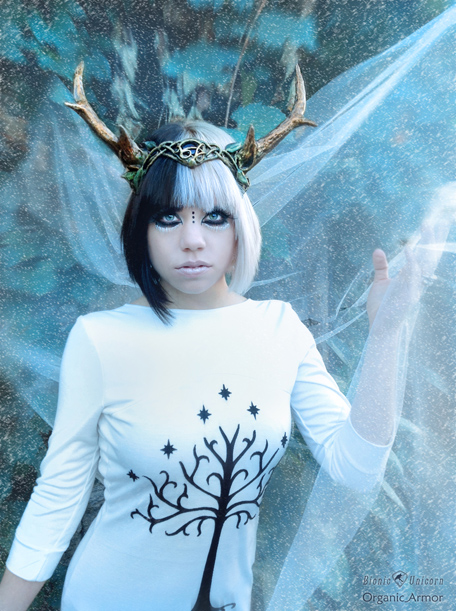 Cristina in Antlers