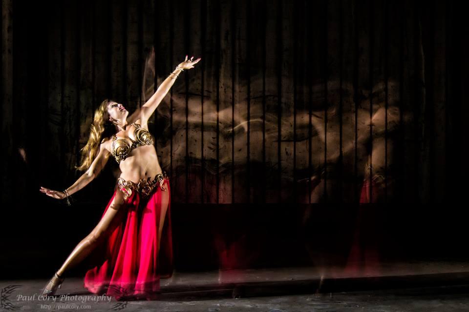 Monika dancing