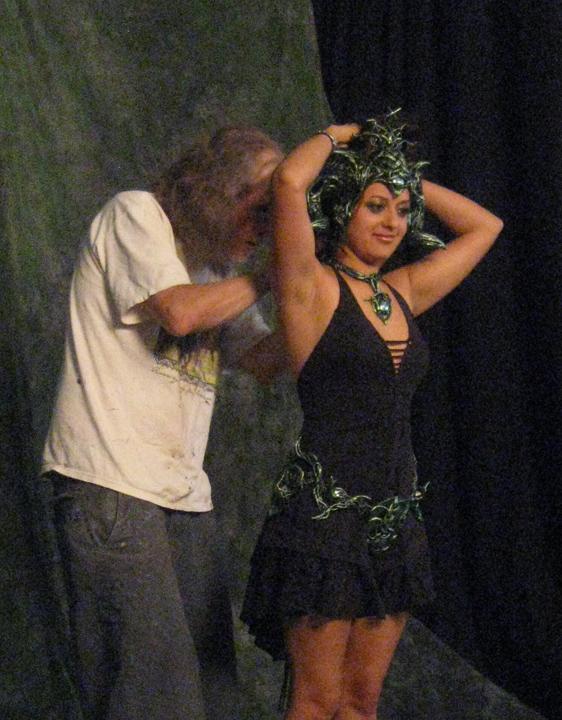 Radhika & Paul with Morrigan