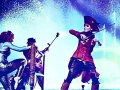 On stage with Lindsey Stirling