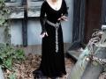 Lady Ann in headdress and belt