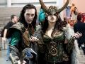 Victoria & friend at NY ComicCon 2013