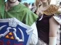 Amanda & friend at NY ComicCon 2013