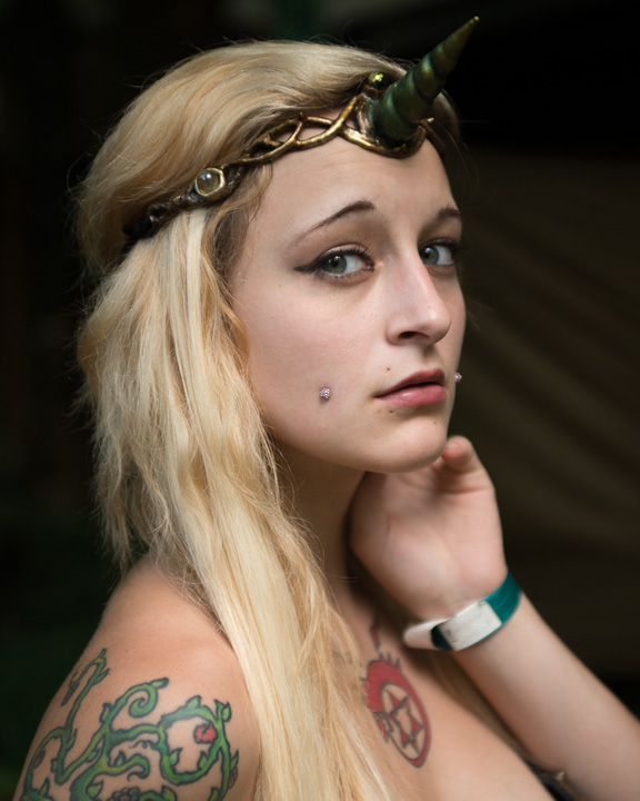 Lauren at the NY Fairie Fest 2013
