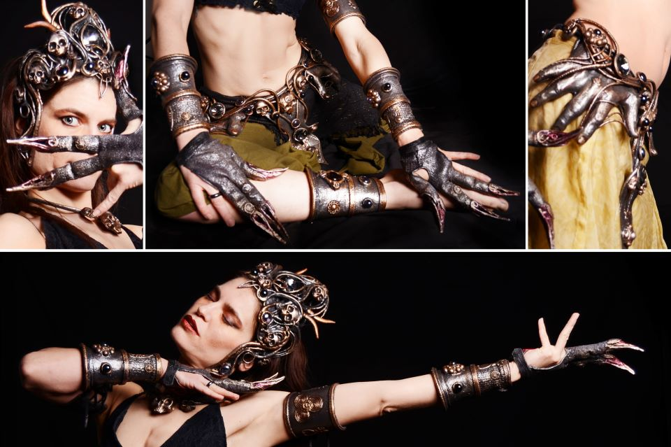 Kali headdress