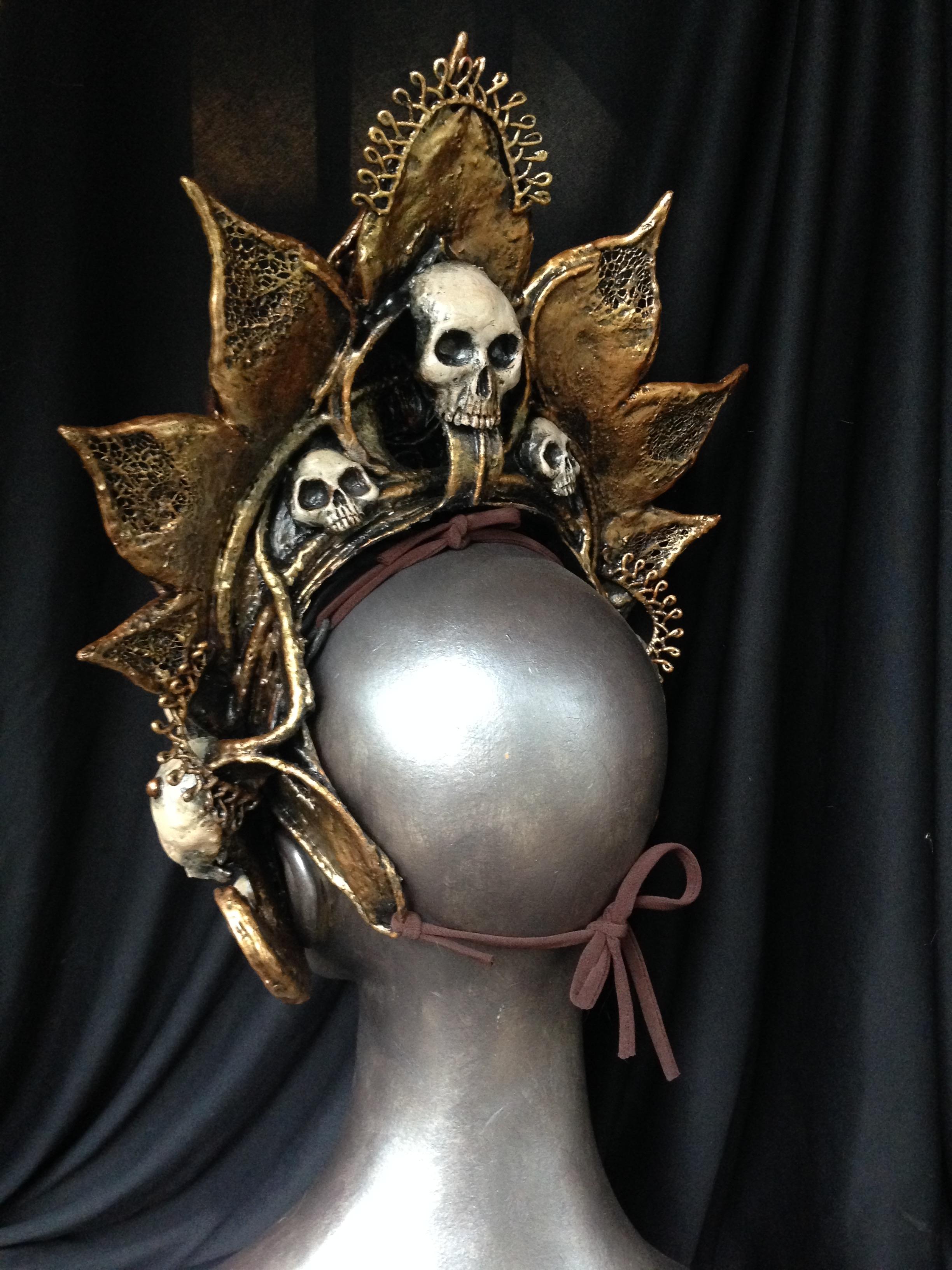 back of Kali headdress