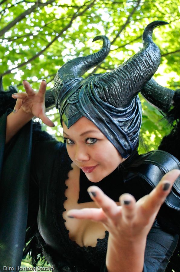 Maleficent headdress