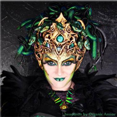 Medusa headdress