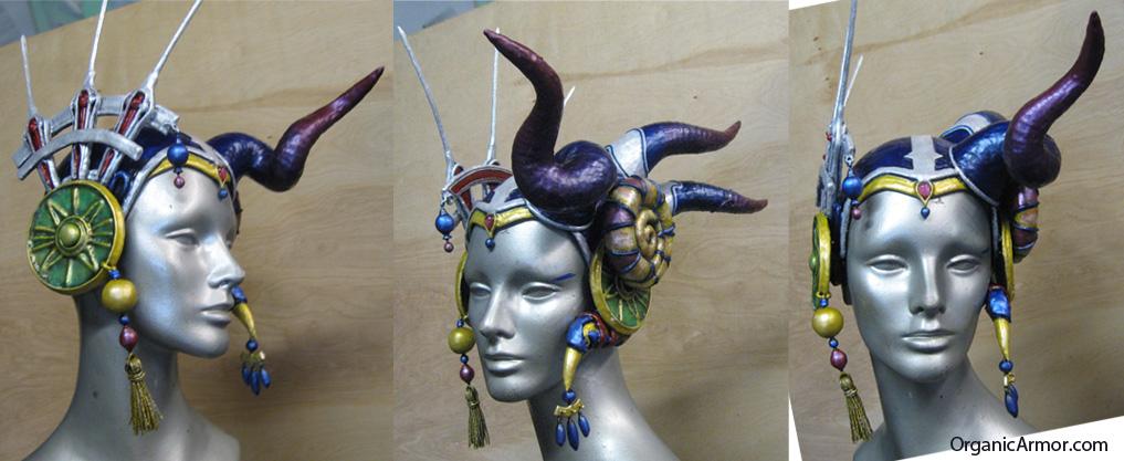 Edea cosplay helmet