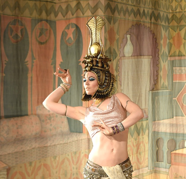 Cleopatra in action