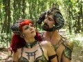 Karnaya and Hathor headdresses