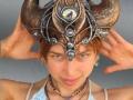 Horned headdress