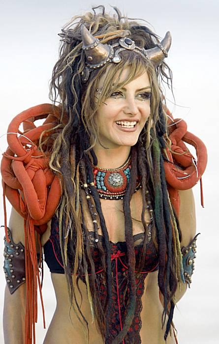 Burning Man horns