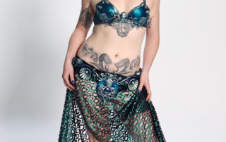 mermaid bra belt sea goddess